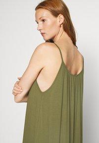 Zign - Jersey dress - olive night - 4