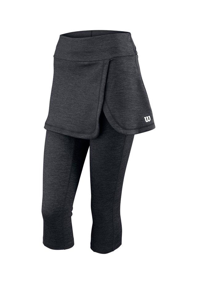 WILSON DAMEN TENNISHOSE - Leggings - schwarz (200)