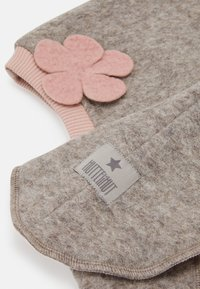 Huttelihut - ELFIE FLOWER - Beanie - camel/dusty rose - 2