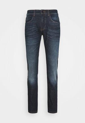 Slim fit jeans - indgo dark blue used