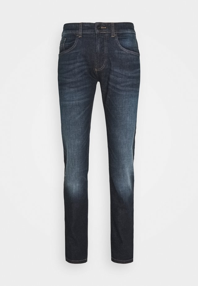 Slim fit jeans - indgo dark blue used