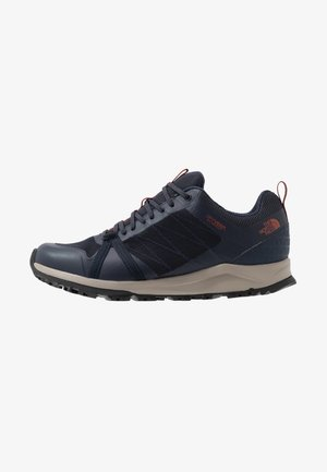 M LITEWAVE FASTPACK II WP - Matalavartiset tennarit - urban navy/picante red