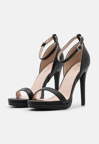 RAID Wide Fit - WIDE FIT CRESSIDA - Platform sandals - black - 2