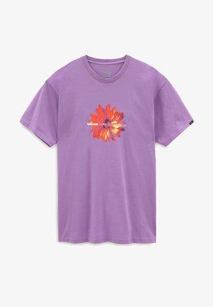 MN BLOOMING SS - T-shirt med print - english lavender