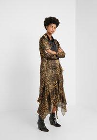 The Kooples - JUPE - A-line skirt - brown/beige - 1