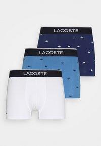3 PACK - Pants - methylene/turquin blue/white