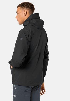 EAGLE PEAK  - Hardshell jacket - black