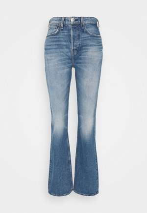 MAYA HIGH-RISE - Bootcut jeans - aquarius
