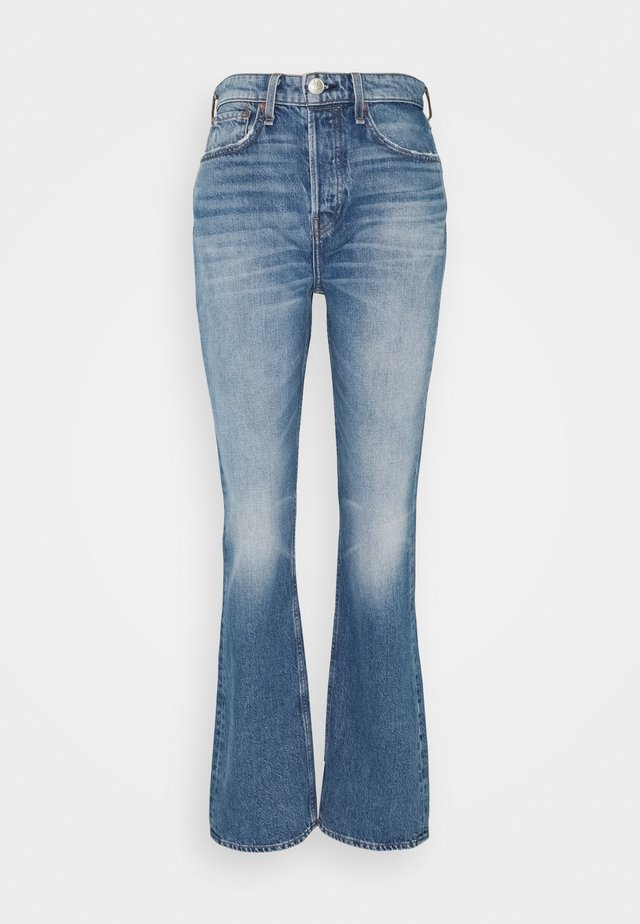 MAYA HIGH-RISE - Jean bootcut - aquarius