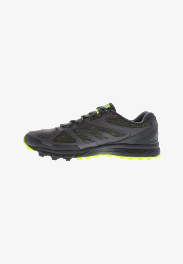 Chaussures de running - grey/lime