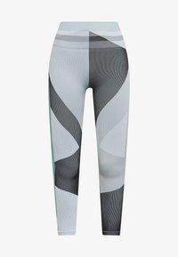 Nike Performance - SEAMLESS SCULPT 7/8 - Leggings - grey fog/black/white - 3