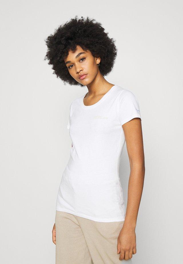 JUNE - T-shirt basic - oyster