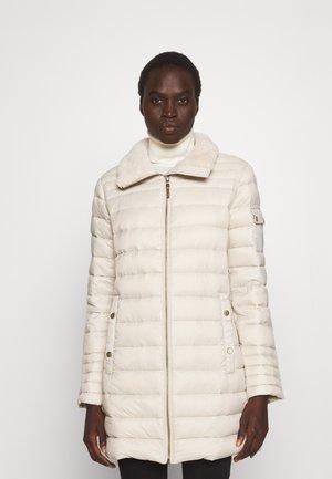 INSULATED COAT - Down coat - light beige