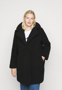 Noisy May Curve - NMGABI JACKET - Classic coat - black - 0
