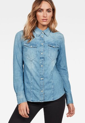 TACOMA STRAIGHT - Button-down blouse - blue