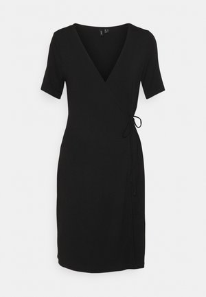 VMKATE SHORT DRESS - Jerseykjole - black