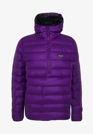 SWEATER HOODY - Down jacket - purple