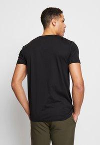 Esprit - 2 PACK - T-shirt - bas - black - 3