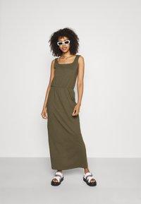 Vero Moda - VMADAREBECCA ANKLE DRESS - Maxi dress - ivy green - 1