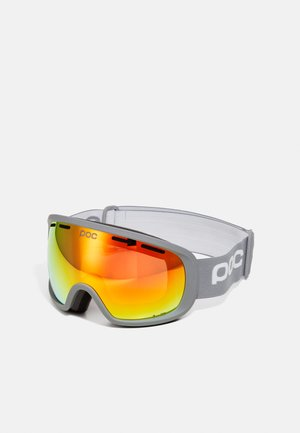 FOVEA CLARITY UNISEX - Gogle narciarskie - pegasi grey/spektris orange