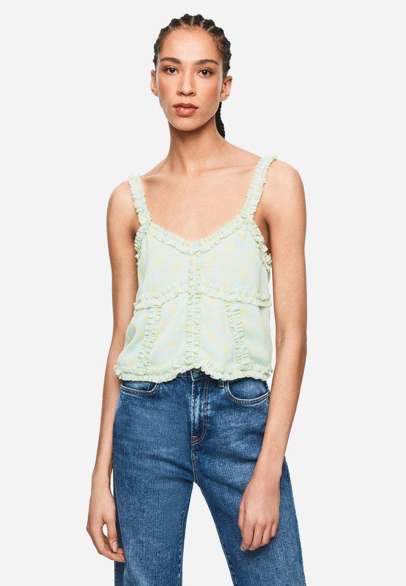 Pepe Jeans - DUA LIPA X PEPE JEANS COLLECTI - Top - green