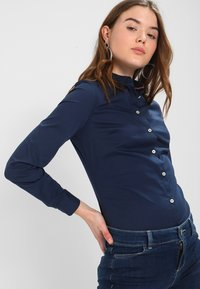 Tommy Jeans - ORIGINAL - Button-down blouse - dress blues - 0