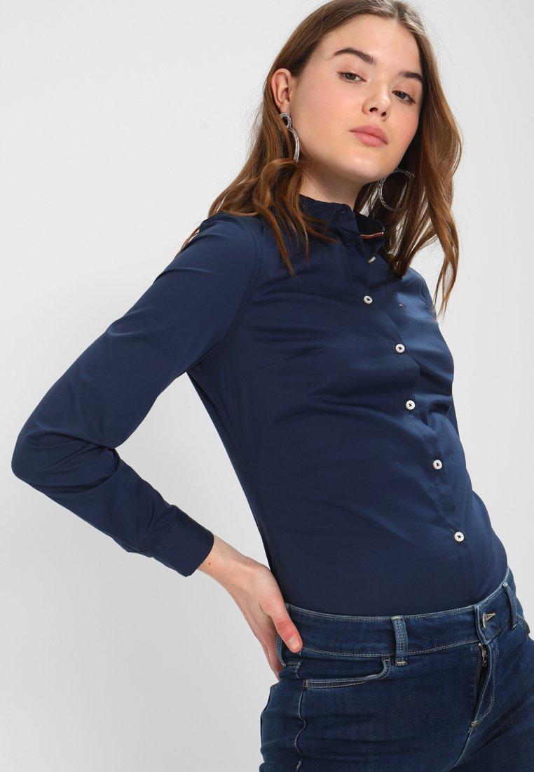 Tommy Jeans - ORIGINAL - Button-down blouse - dress blues