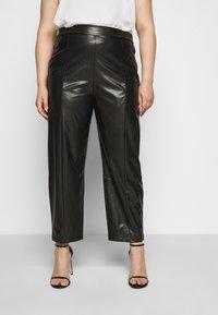 Even&Odd Curvy - Kalhoty - black - 0