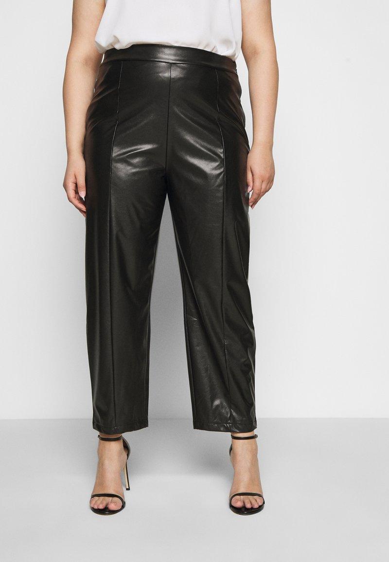 Even&Odd Curvy - Kalhoty - black