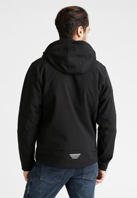 CMP - MAN JACKET ZIP HOOD - Soft shell jacket - nero - 2