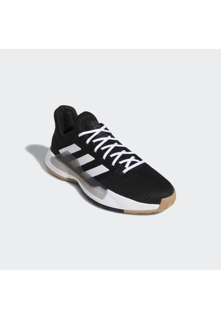 adidas Performance PRO BOUNCE MADNESS LOW 2019 SHOES - Basketballschuh - black/white/grey/schwarz - Herrenschuhe x9Il3