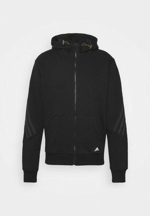 WINTER FULL ZIP FUTURE ICONS - Zip-up sweatshirt - black