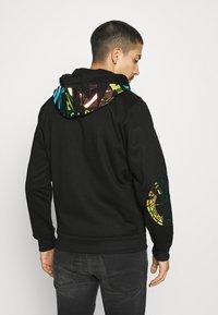 Carlo Colucci - UNISEX - Zip-up sweatshirt - black - 2