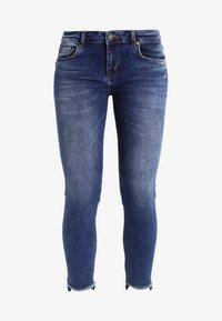 Mos Mosh - SUMNER STEP BLUE - Džíny Slim Fit - blue denim - 5