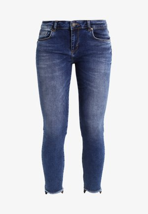 SUMNER STEP BLUE - Jean slim - blue denim
