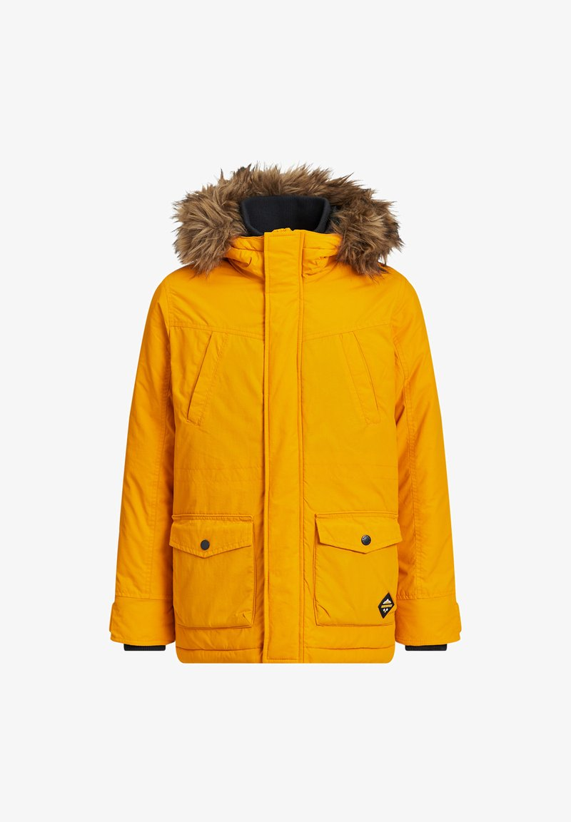 WE Fashion - MET CAPUCHON EN AFNEEMBARE BONDKRAA - Parka - yellow