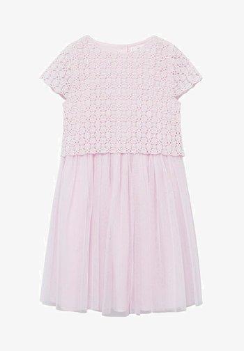 MAZZIA A - Denní šaty - pastelroze