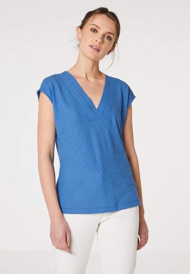 T-shirt basic - azul
