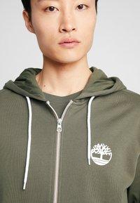 Timberland - ZIP HOODIE - Zip-up hoodie - grape leaf - 4