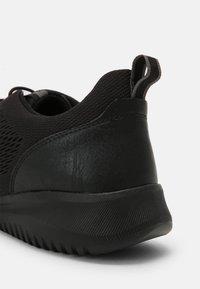 Geox - MONREALE - Sneakersy niskie - black - 6