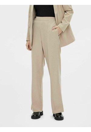 PCBOSSY - Trousers - silver mink