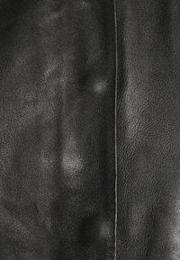 Selected Femme - SLFVERA  O NECK JACKET - Leather jacket - black - 6