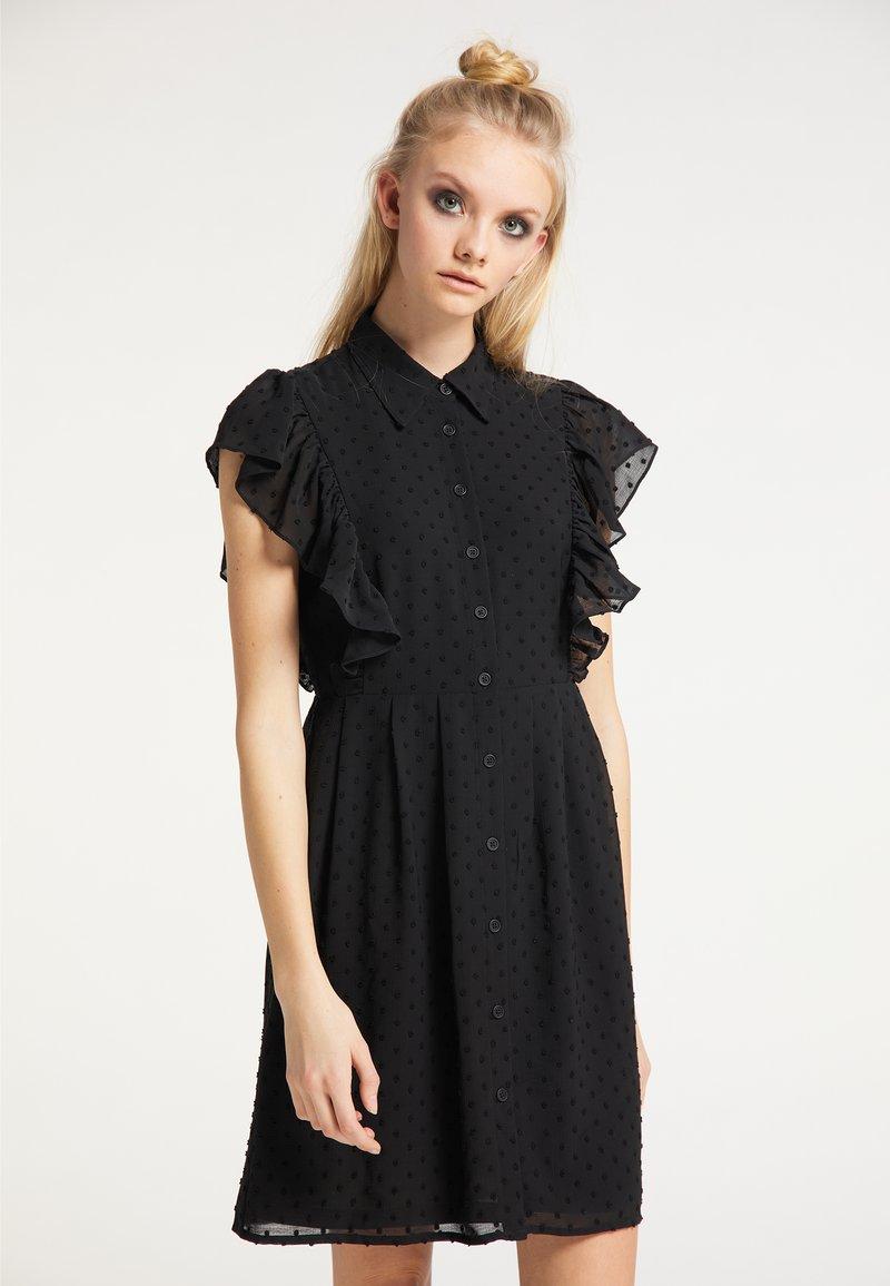 myMo ROCKS - Shirt dress - schwarz