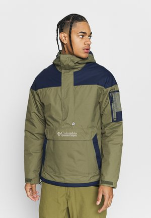 CHALLENGER - Windbreaker - stone green/collegiate navy