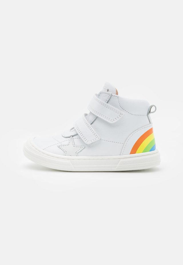 RAINBOW - Sneakers hoog - white