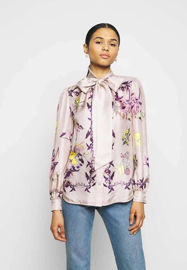 MUSHROOM PARTY BOW BLOUSE - Chemisier - multicolor