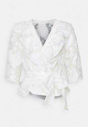 VICAROLINE - T-shirt à manches longues - cloud dancer