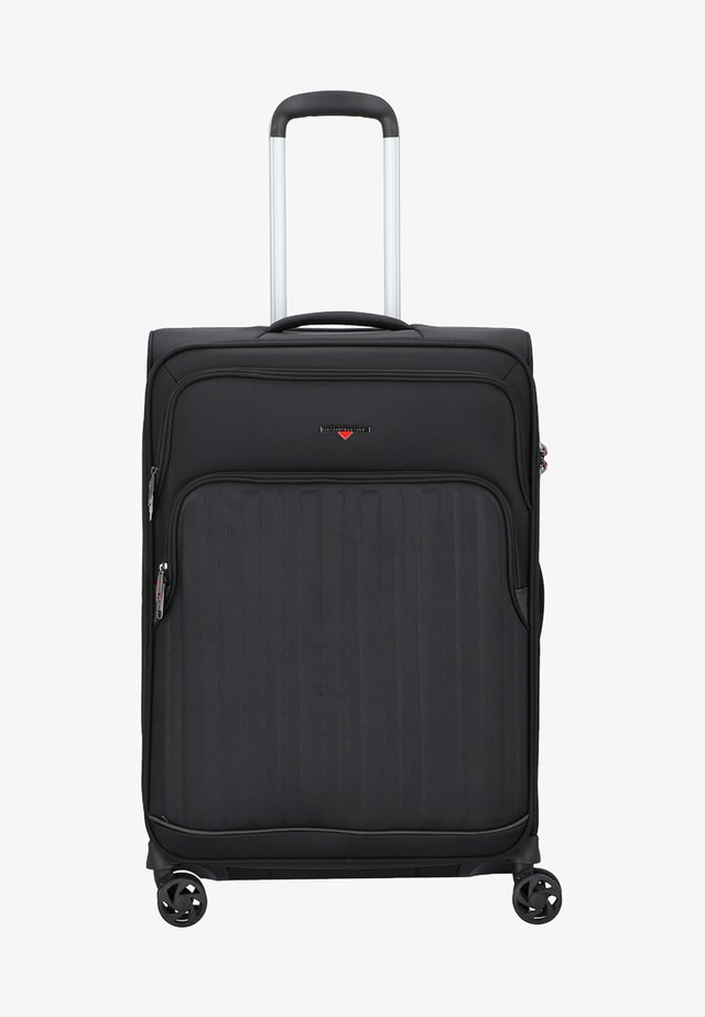 PROFILE - Wheeled suitcase - black