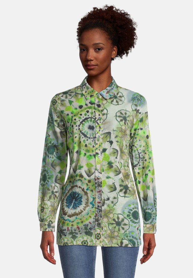 Overhemdblouse - nature-green