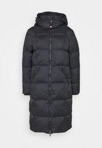 GANT - CLASSIC LONG COAT - Down coat - black - 0